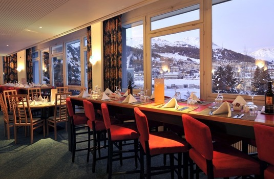 Resort carousel club med st moritz mountain view