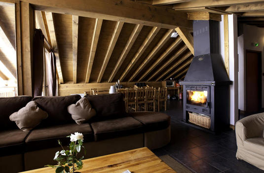 Chalet Papillon 3 | La Rosiere | France | Fire