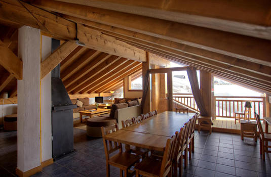 Chalet Papillon 3 | La Rosiere | France | Dining room