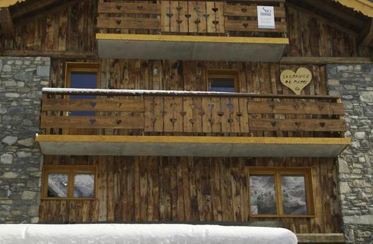 Resort carousel chalet daurel meribel exterior