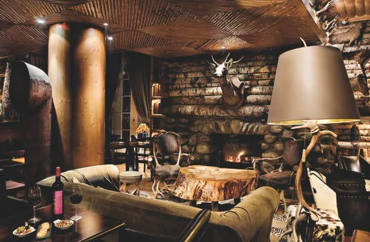 Resort carousel hotel le lodge park megeve lounge
