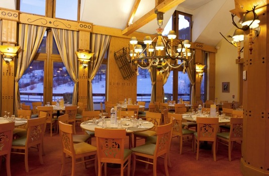Resort carousel club med serre chevalier dining