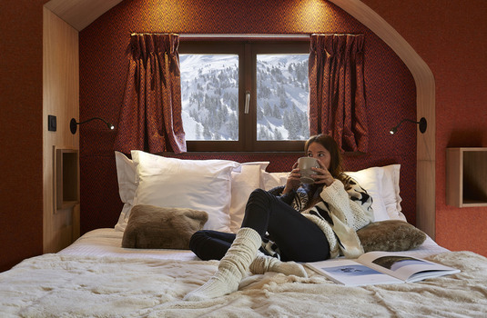 Hotel Des Dromonts | Avoriaz | France | Bedroom |