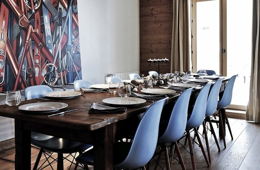 Chalet Sarire | Val D'Isere | France | Dining |