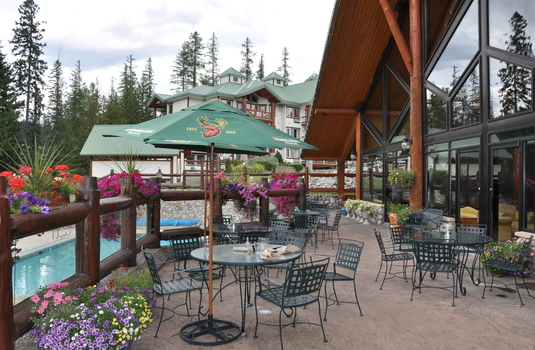 Resort carousel lizard creek lodge fernie terrace
