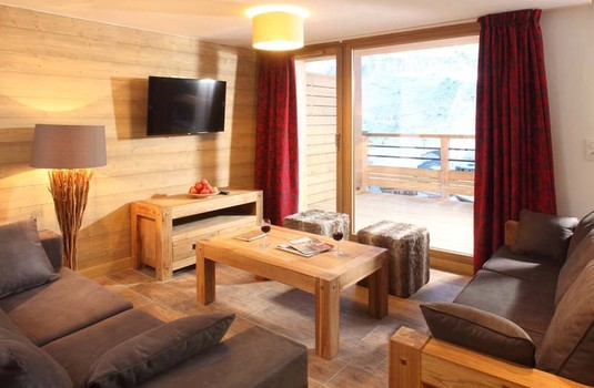 Resort carousel chalet escamillo tignes living