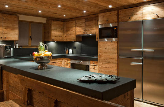Resort carousel chalet silver verbier kitchen