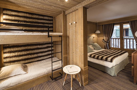 Hotel Kandahar | Val d'Isere | France | Bedroom |