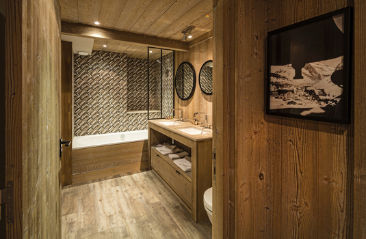 Hotel Kandahar | Val d'Isere | France | Bathroom |