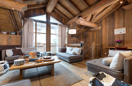 Resort carousel chalet farmhouse val disere lounge
