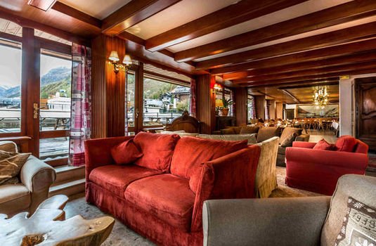 Hotel Cretes Blanches | Val D'Isere | France | Lounge |