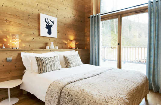 Chalet Sarire bedroom