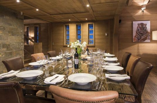 Chalet Opale Dining