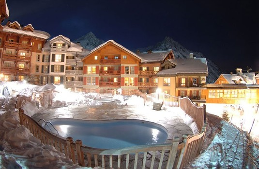 Le Village Outdoor Heated Pool