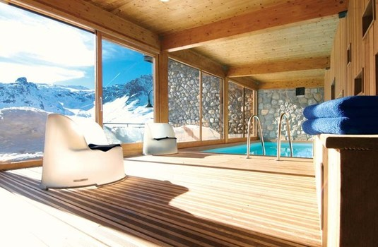 Chalet Arktic Indoor Pool