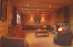Chalet Premier Cordee Living room Courchevel France
