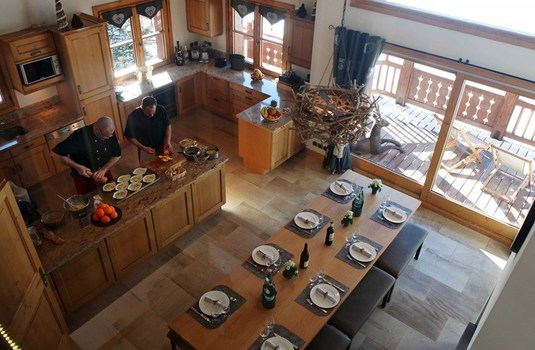 Chalet Chamois Dining