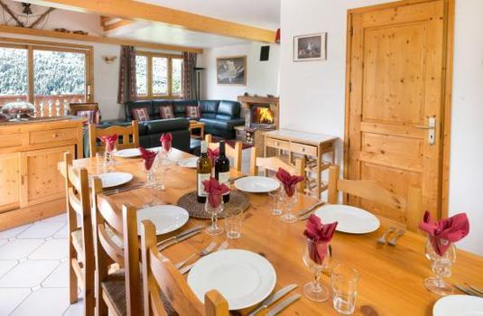 Chalet Evergreen, Meribel - Dining