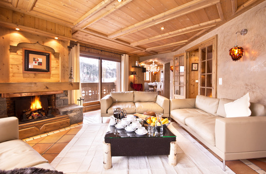 Chalet Brioche living room