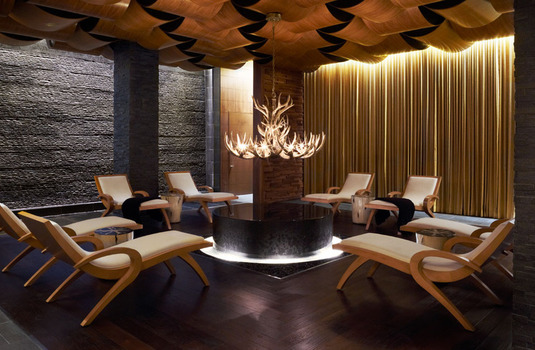 Viceroy Snowmass, Aspen Snowmass, spa relaxation lounge