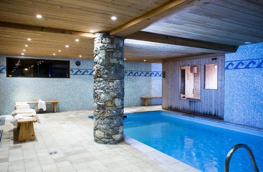 Chalet Les Andes Pool