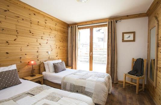 Chalet Les Andes Twin Room
