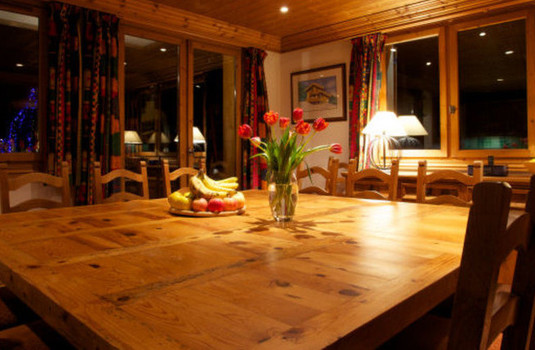 Chalet Bruyere Dining Room