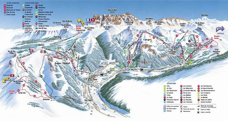 Chatel Ski Resort France Ski Solutions