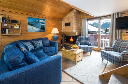 Chalet Chamois (Meribel) Living
