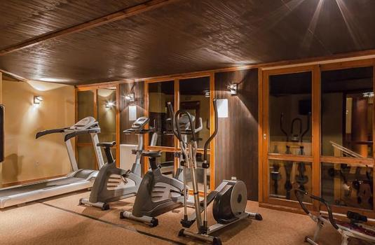 Resort carousel les balcons de belle plagne gym