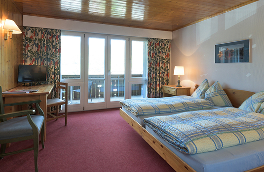 Jungfrau Lodge Bedroom
