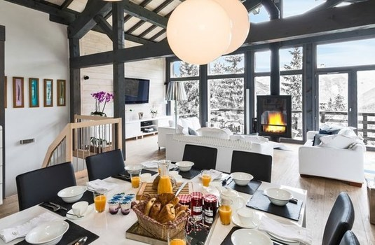 Chalet Le R Dining