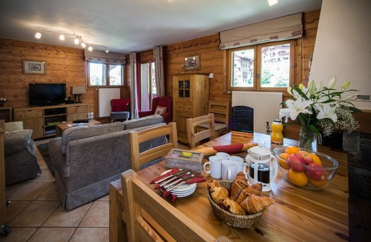 Chalet Apartment Snowdrop Living