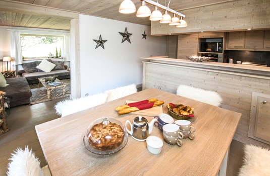 Chalet La Foret Kitchen
