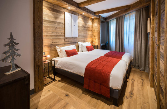 Chalet Papillon Bedroom 3