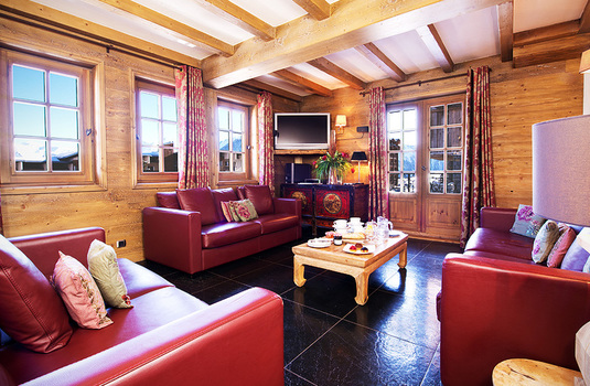 Resort carousel chalet la vieille forge lounge