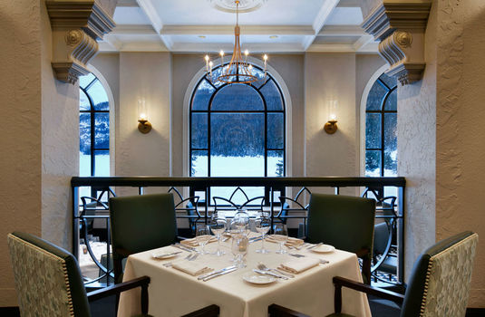 Resort carousel fairmont chateau lake louise fairview dining room