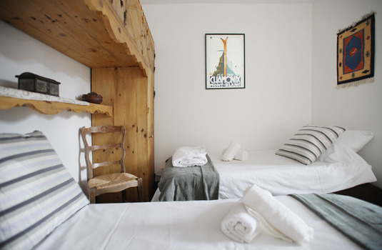 Chalet Cachat Bedroom 2