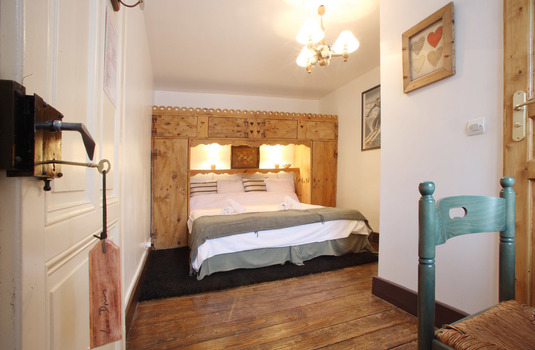 Chalet Cachat Bedroom