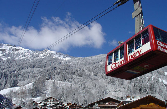 Champery Cable Car