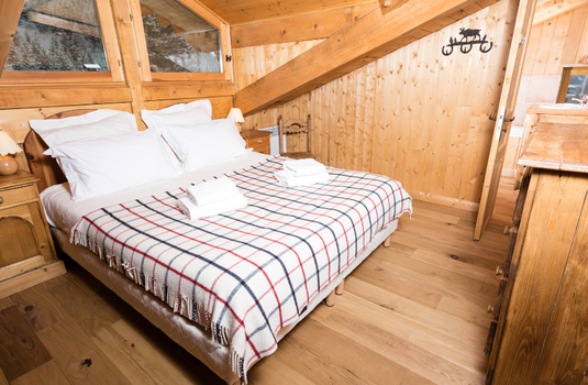 Chalet Les Oursons - Bedroom 4