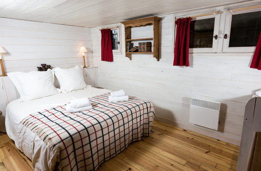 Chalet Les Oursons - Bedroom 2