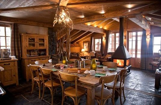 Chalet Jacques - Dining Room