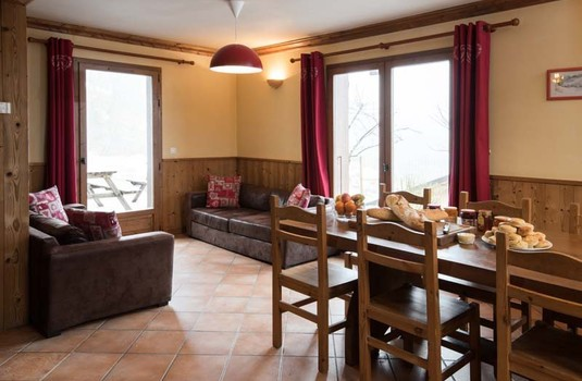 Chalet Pascale - Lounge