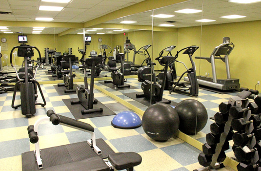 Resort carousel crystal lodge   gym