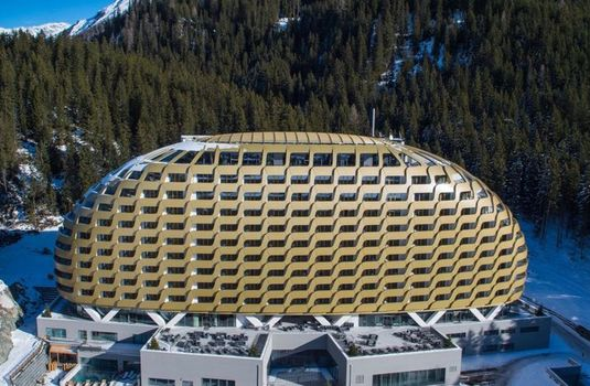 Resort carousel intercontinental hotel davos   exterior 2