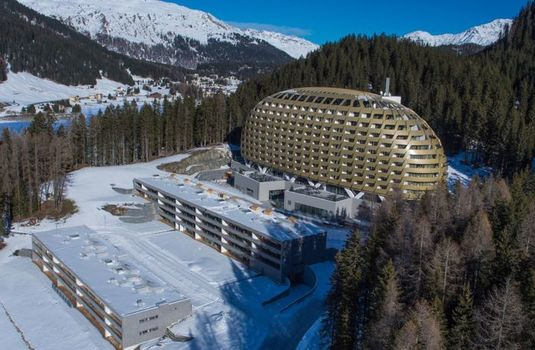 Resort carousel intercontinental hotel davos   exterior 5