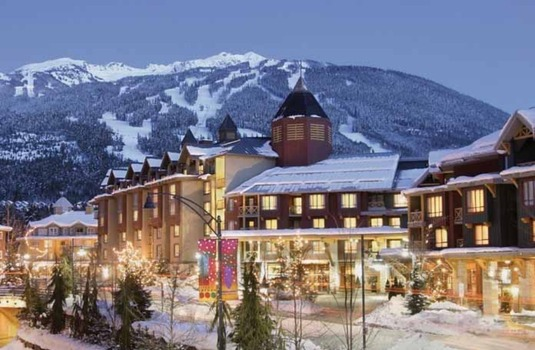 Resort carousel delta whistler village suites ext