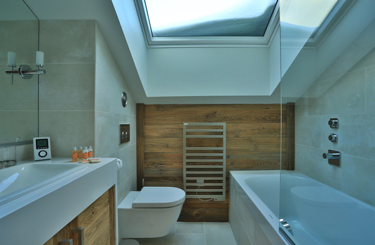 Chalet Carcajou -  Green  Bathroom