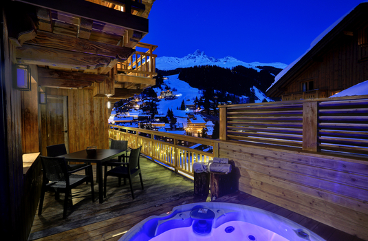 Chalet Carcajou -  Terrace Views